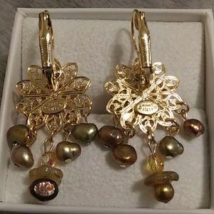 Kirks Folly Jewelry - Kirk's Folly signed earrings